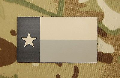 Infrared Texas State Flag Patch