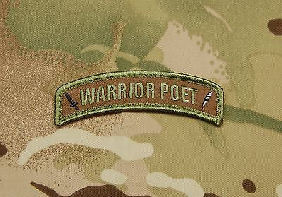 Warrior Poet Morale Tab Patch