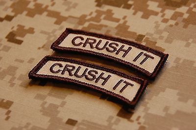 CRUSH IT Tab Morale Patch Set