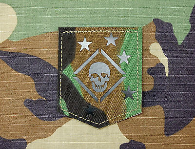 Infrared Marine Raiders M81 Woodland Patch