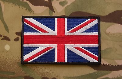 "Large UK Flag Patch - 5"" x 3"""