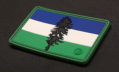 Cascadia Flag 3D PVC Morale Patch