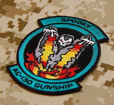 Ace Combat SPOOKY AC-130 Squadron Embroidered Patch