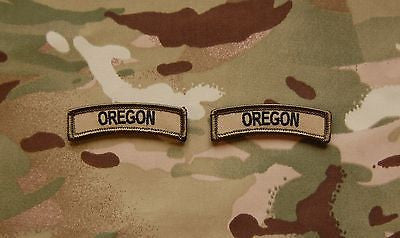 Oregon State Tab Patch Set - Multicam