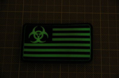 Biohazard USA GTID 3D PVC Morale Patch