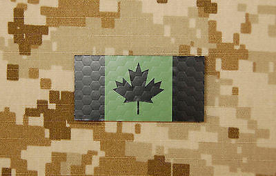 Infrared Mini Canadian Flag Patch