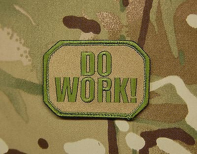Do Work! Morale Patch
