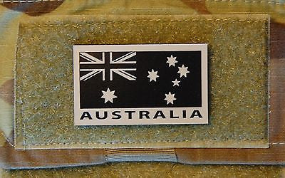 Infrared Australian Flag Patch Set - Tan & Black