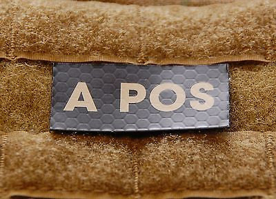 A POS Blood Type IR Patch