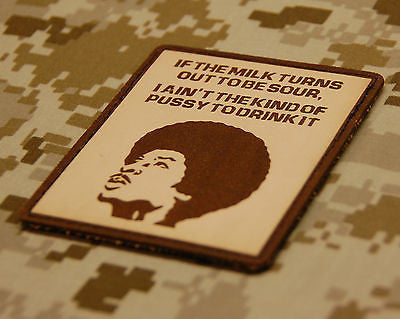 Limited Edition Rory Breaker Leather Morale Patch