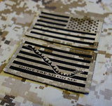 IR NWU Type II Reverse US Flag & First Navy Jack Patch Set
