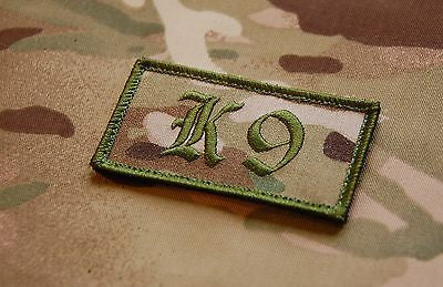 K9 Dog Handler Patch -  Multicam & OD Green