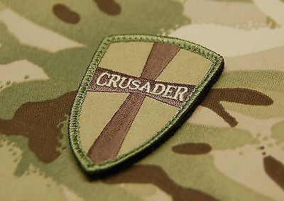 Multicam Crusader Cross Shield Morale Patch