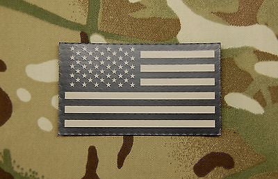 Infrared US Flag Patch-Forward Facing