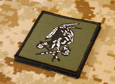 NSWDG Red Squadron 'Shooter' Patch - OD & White