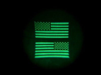 Infrared NWU Type III IR US Flag Patch
