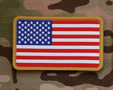 US Flag PVC Morale Patch