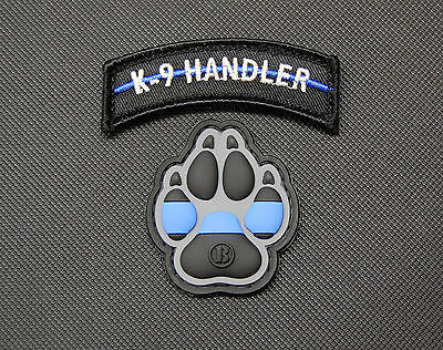 Infrared Black & Tan K9 Patch
