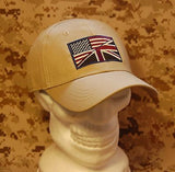 US/UK Friendship Flag Cap