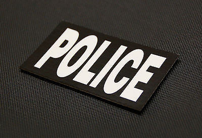 Infrared POLICE Patch