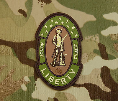 American Patriot 3D PVC Morale Patch
