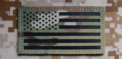 Colorado State Flag Infrared Multicam Call Sign Patch