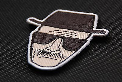 Breaking Bad Heisenberg Embroidered Morale Patch