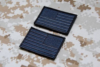 Covert United States Flag Patch Set
