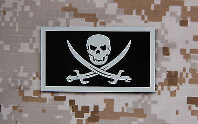 Infrared Hawaii State Flag Patch Set
