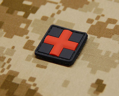 Medic Red Cross 3D PVC Patch