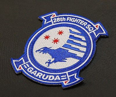 Ace Combat 28th FIGHTER SQUADRON GARUDA Embroidered Squadron Patch