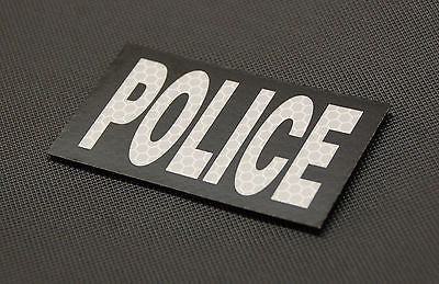 IR Reflective SOLASX POLICE Patch