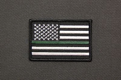 Thin Blue Line Union Flag Patch