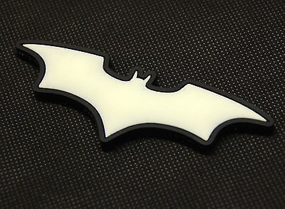 The Dark Knight Batman GITD PVC Morale Patch