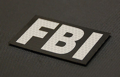 SOLAS Reflective FBI Patch
