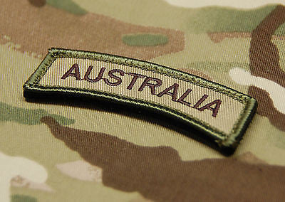 AUSTRALIA Tab Patch