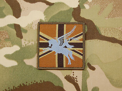 16 Air Assault Brigade Union Flag Morale Patch - Desert Subdued