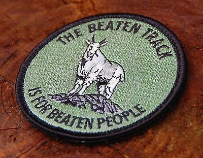 The Beaten Path Is For Beaten People Limited Edition Morale Patch