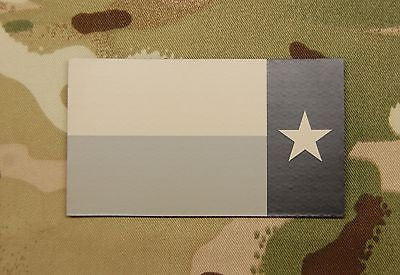 Infrared Reverse Texas State Flag Patch