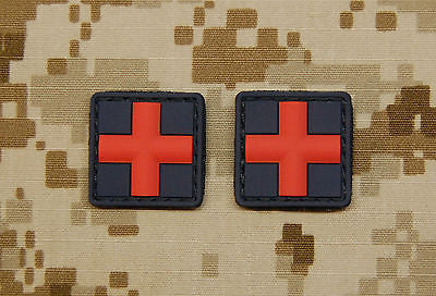 Medic / Red Cross 3D PVC Patch Set
