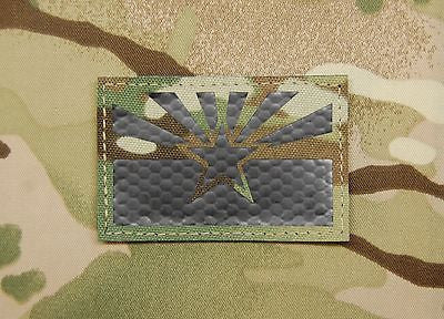 Arizona State Flag Infrared Blackout Call Sign Patch