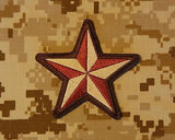 Nautical Star Morale Patch - AOR1 NWU Type II