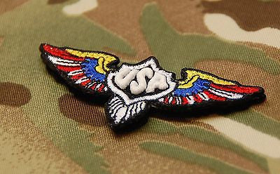 USA Patriot Wings GITD Morale Patch