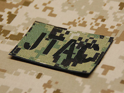 Infrared NWU Type III JTAC Call Sign Patch