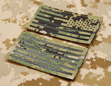 IR NWU Type III Reverse US Flag & First Navy Jack Patch Set - Full Size 4