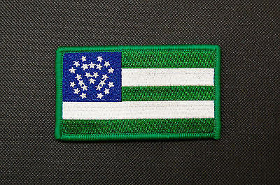 Infrared Union Flag Patch - Green & Black