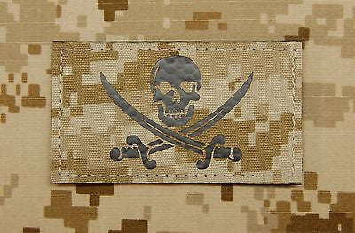 Infrared NWU Type II Calico Jack Call Sign Patch