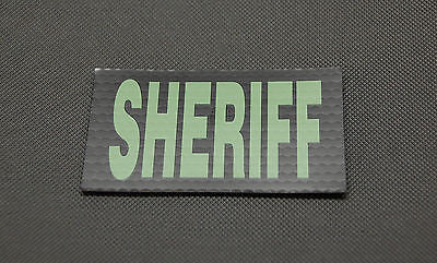 Infrared SHERIFF Patch - Green & Black