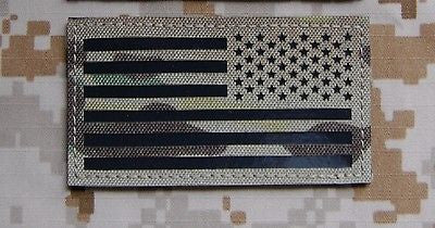 NWU Type III Infrared US Flag Patch Set