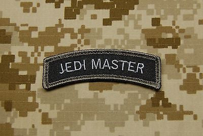 JEDI MASTER Tab Morale Patch - Black